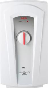 Водонагреватель проточный электрический напорный AEG RMC 85