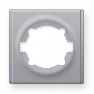 Рамка одинарная, цвет серый