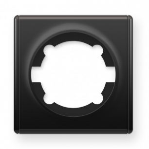 Рамка одинарная, цвет чёрный