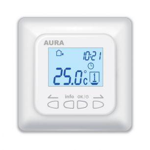 Регулятор температуры (терморегулятор) электронный программируемый AURA LTC 730