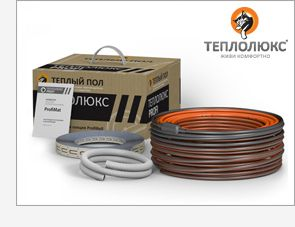Комплект теплого пола на основе двухжильного  кабеля  ProfiRoll-200