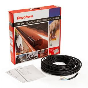 Греющий кабель для систем антиобледенения кровли и водостоков Raychem GM-2CW  45м