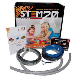 Греющий кабель StemEnergy 500/20 длина комплекта 25 м.