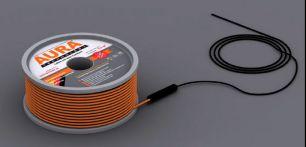 Теплый пол на основе двухжильного нагревательного кабеля AURA Heating  КТА  59м -1000Вт
